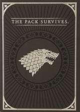 Game of Thrones Direwolf Pop-up Card