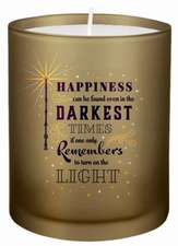 Harry Potter Turn on the Light Glass Candle