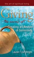 Giving the Sacred Art