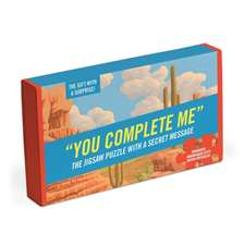 You Complete Me Message Puzzle