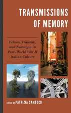 TRANSMISSIONS OF MEMORY ECHOECB