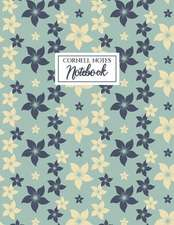 Cornell Notes Notebook: A Proven Focused Note-Taking System for College, Middle School and Elementary Students - Floral Edition