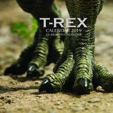 T-Rex Calendar 2019: 16 Month Calendar