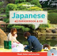 Lonely Planet Japanese Phrasebook [With CD (Audio)]:  Get the Best Travel Secrets & Advice from the Experts