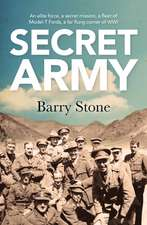 Stone, B: Secret Army