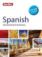 Berlitz Phrase Book & Dictionary Spanish