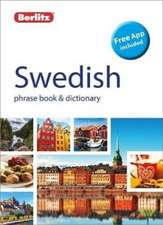 Berlitz Phrase Book & Dictionary Swedish
