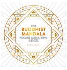 Buddhist Mandala Pocket Colouring Book