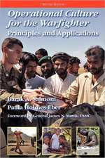Operational Culture for the Warfighter