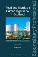 Reed and Murdoch: Human Rights Law in Scotland