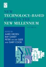 New Technology-Based Firms in the New Millennium, Volume IX