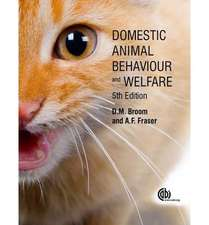 Domestic Animal Behaviour and Welfare:  Botany, Chemistry, Postharvest Technology and Uses
