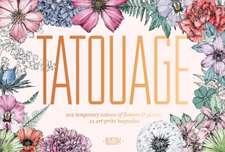 Tatouage: Blossom: 102 Temporary Tattoos of Flowers & Plants and 22 Art-Print Keepsakes