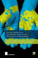 Siracusa Guidelines for International, Regional and National Fact-Finding Bodies