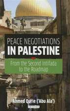 Peace Negotiations in Palestine: From the Second Intifada to the Roadmap