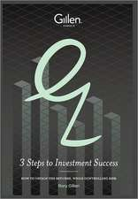 3 Steps to Investment Sucess