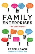 Family Enterprises: The Essentials
