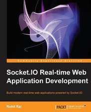 Socket.IO Real-Time Web Application Development