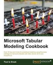 SQL Server and Power Pivot - Tabular Modeling Cookbook