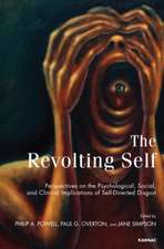 The Revolting Self:  Perspectives on the Psychological, Social, and Clinical Implications of Self-Directed Disgust