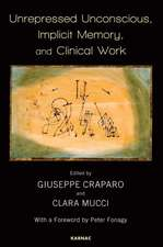 Unrepressed Unconscious, Implicit Memory, and Clinical Work