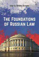 The Foundations of Russian Law