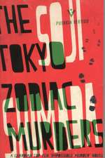 The Tokyo Zodiac Murders:  New Voices, Old Traditions