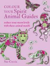Colour Your Spirit Animal Guides: Reduce your stress levels with these animal motifs