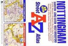 Nottingham Street Atlas (paperback)