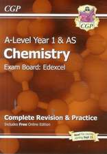 New A-Level Chemistry: Edexcel Year 1 & AS Complete Revision & Practice with Online Edition