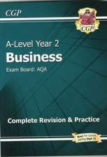 New A-Level Business: AQA Year 2 Complete Revision & Practice