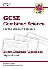 Grade 9-1 GCSE Combined Science: Exam Practice Workbook (with answers) - Higher