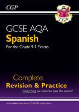 New GCSE Spanish AQA Complete Revision & Practice (with CD & Online Edition) - Grade 9-1 Course