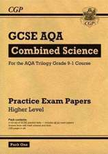 New Grade 9-1 GCSE Combined Science AQA Practice Papers: Higher Pack 1
