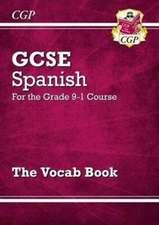 New GCSE Spanish Vocab Book - for the Grade 9-1 Course