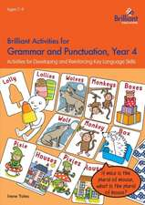 Brilliant Activities for Grammar and Punctuation, Year 4