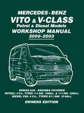 Mercedes-Benz Vito & V-Class Petrol & Diesel Models Workshop