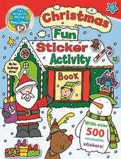 The Wonderful World of Simon Abbott: Christmas Fun Sticker A