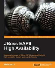 Jboss Eap6 High Availability:  Machine Learning in Python