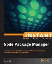 Instant NPM
