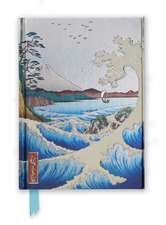 Hiroshige: Sea at Satta (Foiled Journal)