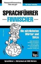 Sprachfuhrer Deutsch-Finnisch Und Thematischer Wortschatz Mit 3000 Wortern