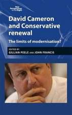 David Cameron and Conservative Renewal