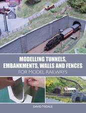 Modelling Tunnels, Embankments, Walls and Fences for Model R