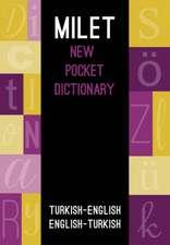 Milet New Pocket Dictionary: Turkish - English/ English - Turkish