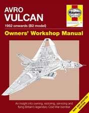 Avro Vulcan Manual:  1952 Onwards (B2 Model)