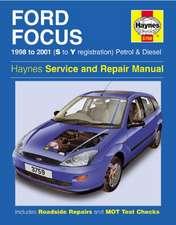 Ford Focus Petrol & Diesel (98 - 01) Haynes Repair Manual