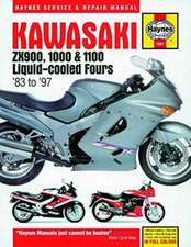 Kawasaki ZX900, 1000 & 1100 Liquid-Cooled Fours