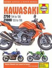 Kawasaki Z750 & Z1000 (03 - 08) Haynes Repair Manual