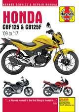 Honda CBF125 & CB125F Update (5540) ('09 To '16)